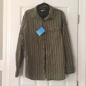 Long sleeve button down-NWT
